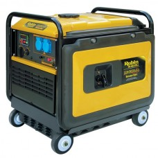 Huter DY6500LX Бензиновая электростанция с колёсами и аккумулятором