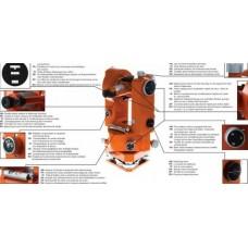 ADA PROF-X2 Теодолит оптический с поверкой