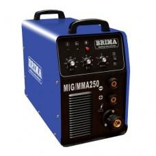 BRIMA MIG/ММА-250-1 на 220В Инверторный сварочный полуавтомат