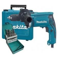 Makita HP1631KX2 Ударная дрель