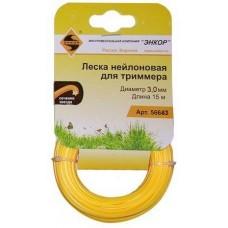ЭНКОР 56663 Леска для триммера