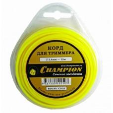 CHAMPION Round 2.4мм 245м Леска для триммера